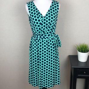 Donna Morgan Jade Faux Wrap Jersey Dress Petite